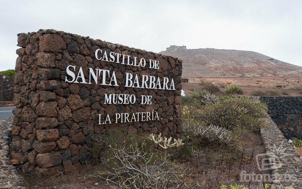 Castillo de Santa Bárbara – Museo de la Piratería en Teguise – Lanzarote