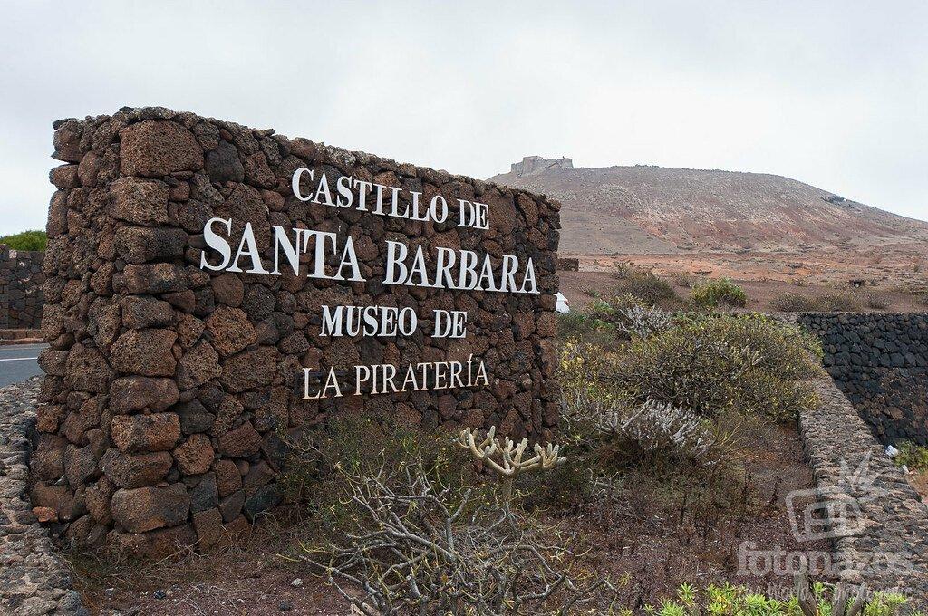 Castillo de Santa Bárbara - Museo de la Piratería en Teguise - Lanzarote