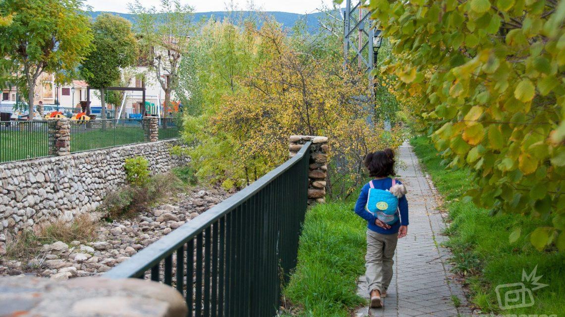 Paseo azul, una ruta por el casco urbano de Rascafría