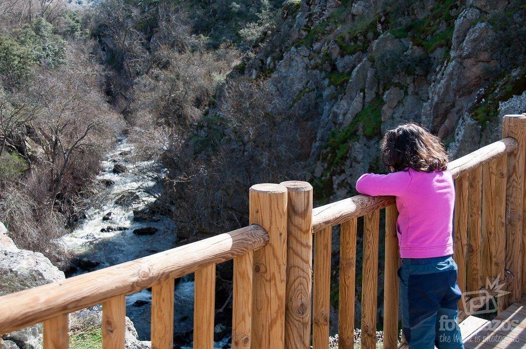 Ruta a la Risca de Valdeprados - Río Moros - Segovia