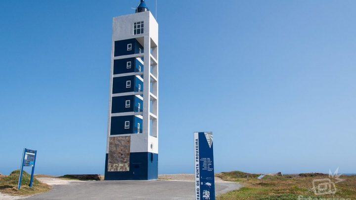 Faro de Punta Frouxeira y los túneles militares de Meiras (Valdoviño)
