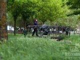 Parque del Prado de la Casa en Humanes de Madrid