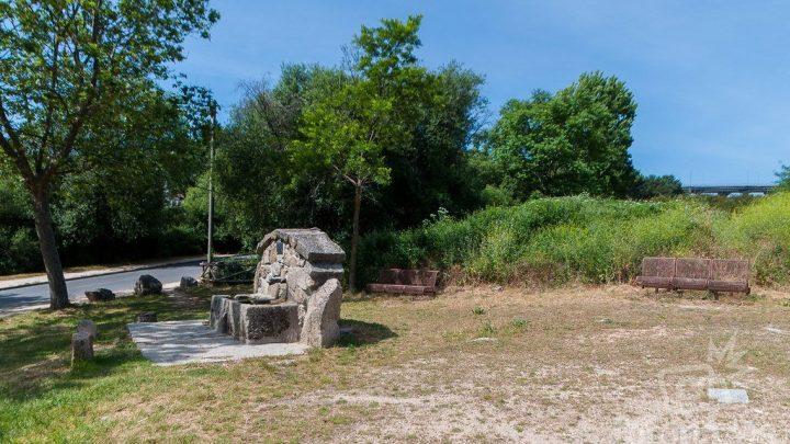 Fuente de la calle de San Macario en Guadarrama