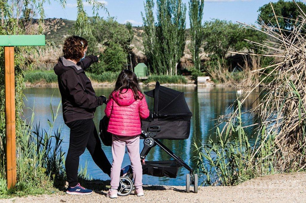 Rutas y excursiones con carrito de bebé cerca de Madrid