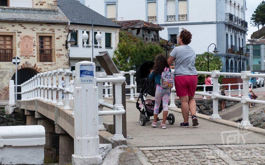 El Puente del Beso en Luarca